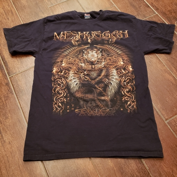 Meshuggah metal band tour shirt